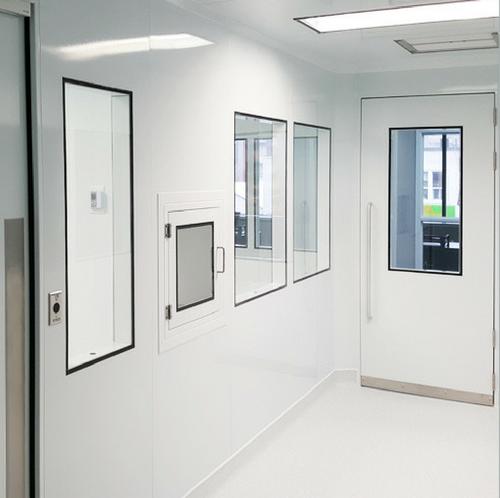 salle blanche modulaire préfabriquée / modular cleanroom prefab