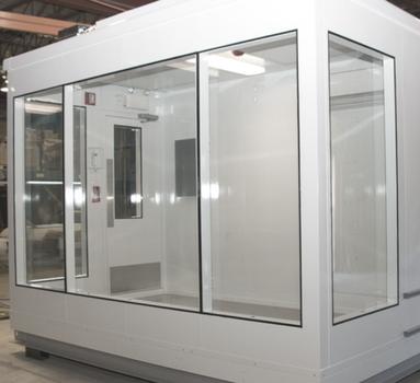 fenêtre acoustique industrielle