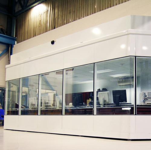 salle de contrôle insonorisée industrielle / soundproofed control room industrial