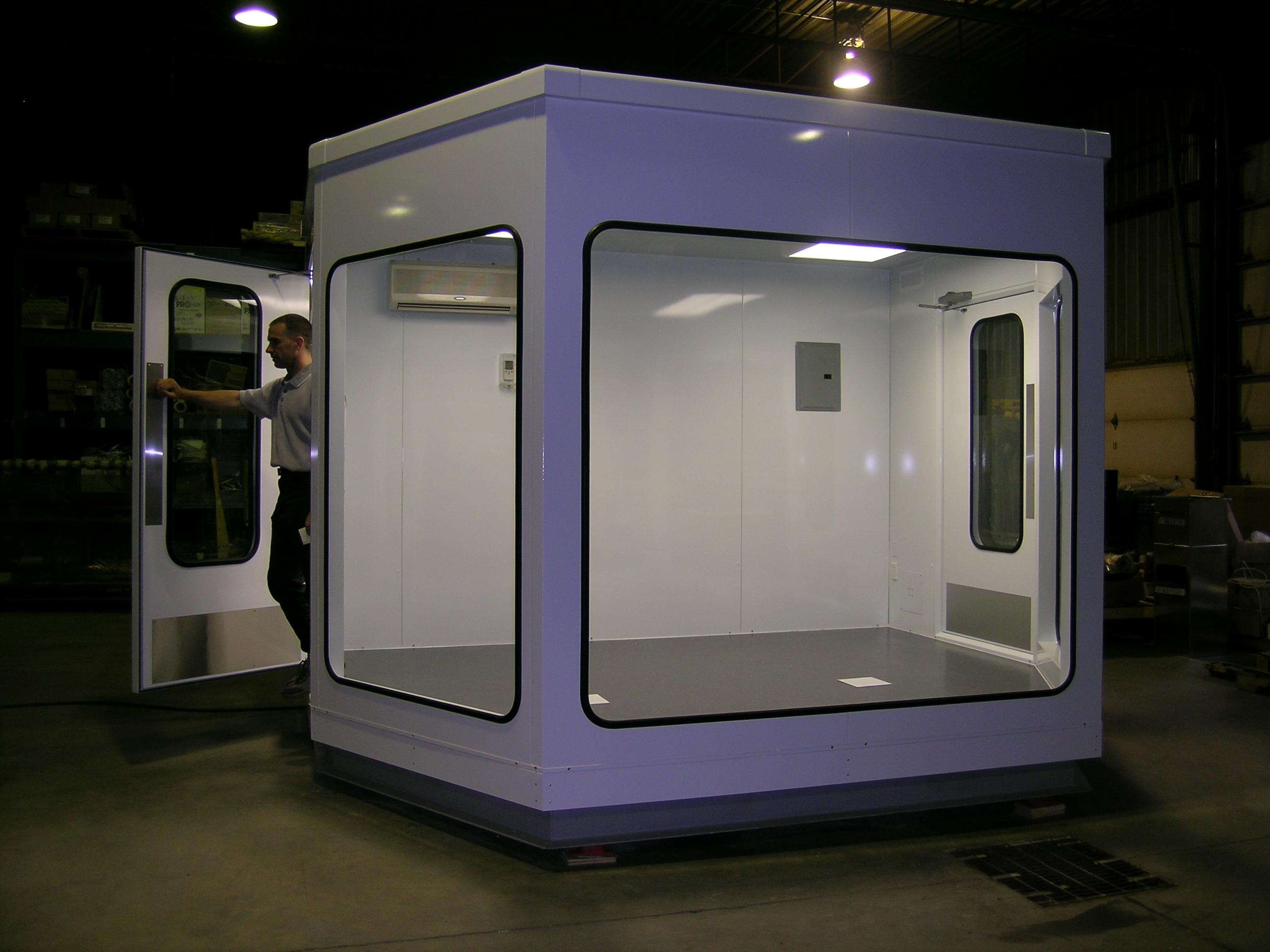 Prefabricated modular control room mecart for Prefab room