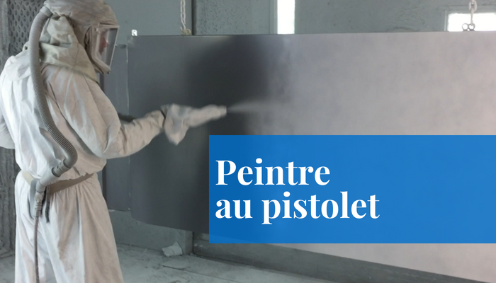 peintre au pistolet emploi mecart