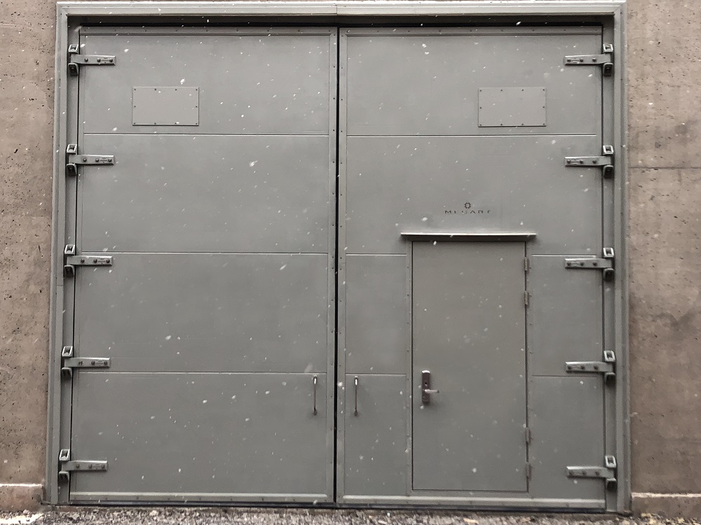 power substation oversized acoustic doors