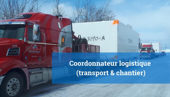 Coordonnateur logistique