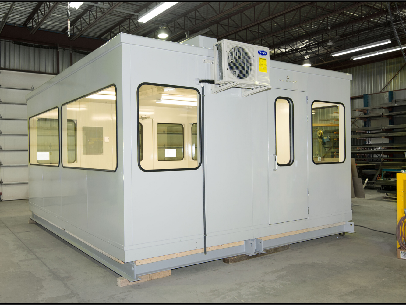 Preassembled Cabins in 2 sections - 1333 x 1000