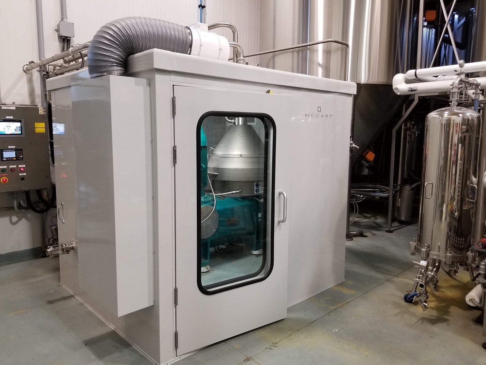 Acoustic Enclosure for a Brewery Centrifuge