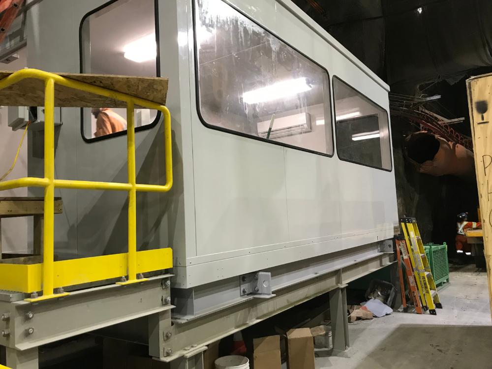 Modular Hoist Cabin