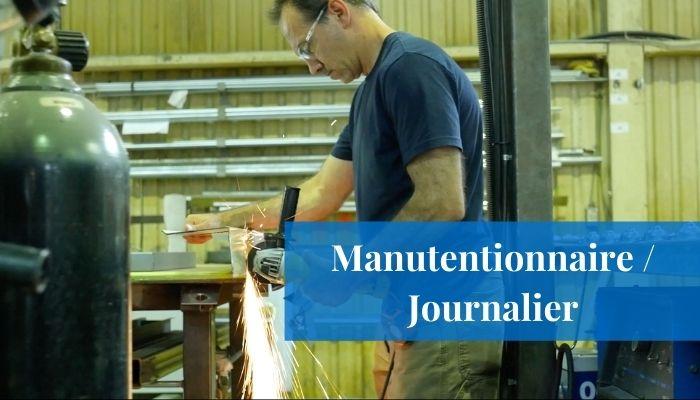 Manutentionnaire Journalier