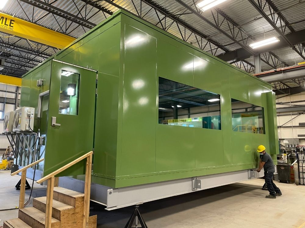 Outdoor Prefab Control Room for an Electric and Natural Gas Utility Company (1)