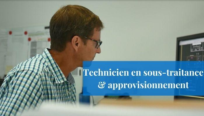 Technicien en sous-traitance & approvisionnement (10)