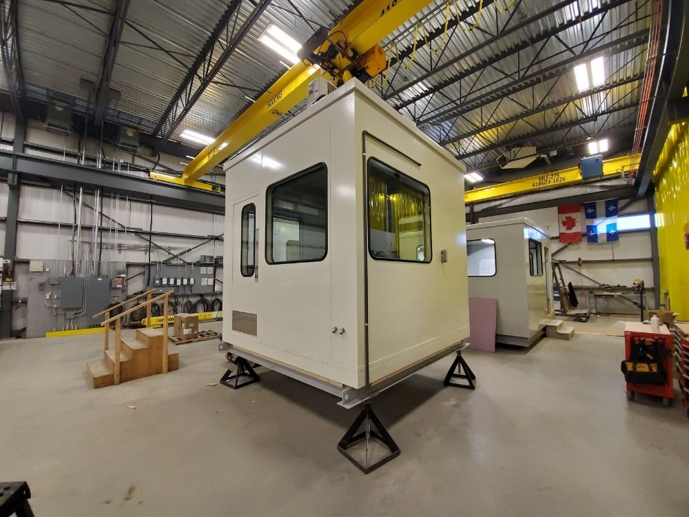 Prefab Bale Line Control Room for Pulp and Paper Mill